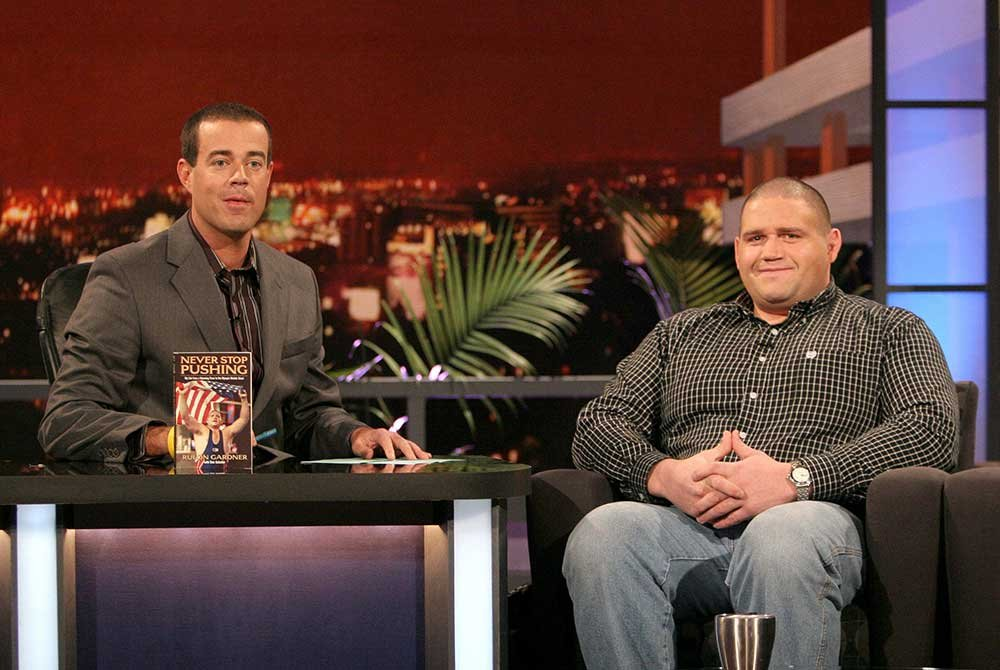Rulon Gardner on talk show