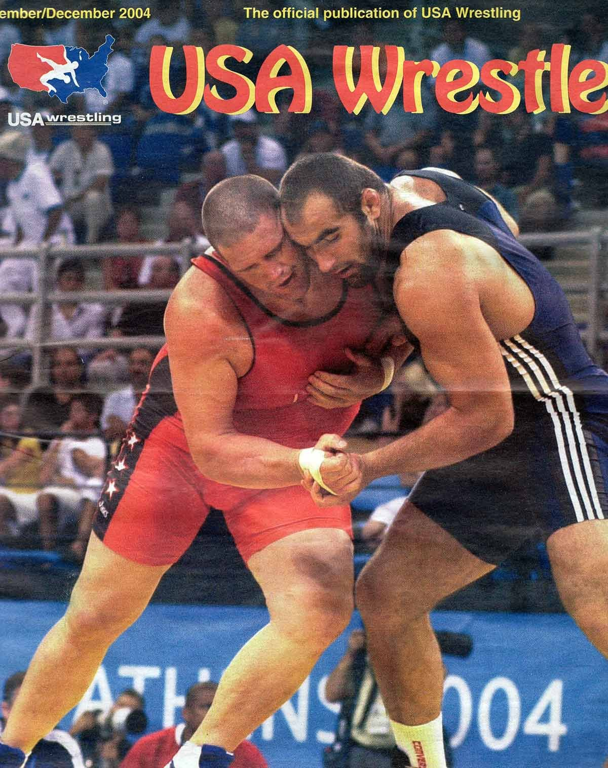 Cover of the magazine USA Wrestler
