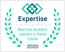 Expertise Award for Best Car Accident Lawers in Santa Clarita 2020