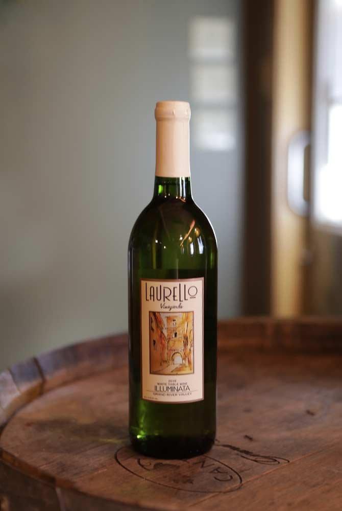Laurello Illuminata Wine Bottle