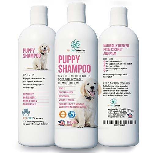 Puppy shampoo and conditioner