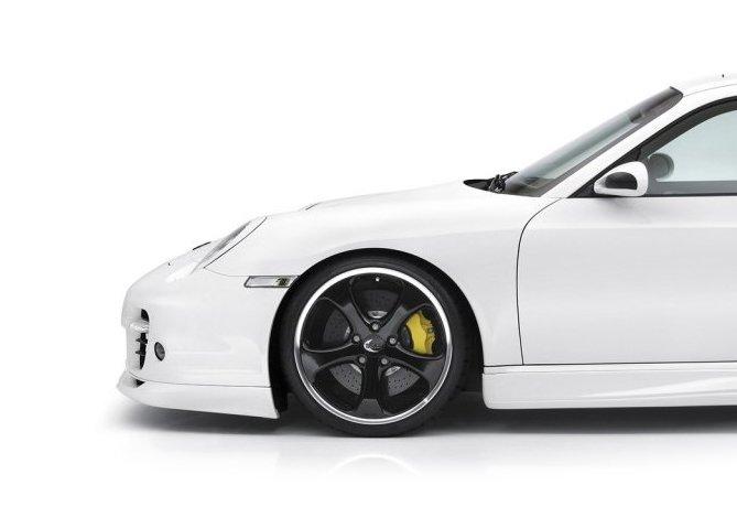 white car profile