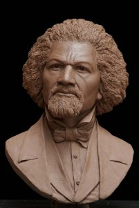 Sculpted Bust of Frederick Douglass