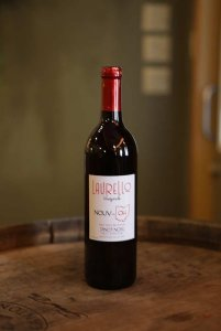 Laurello Pinot Noir Wine Bottle