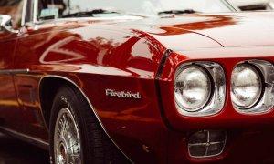 Classic firebird car