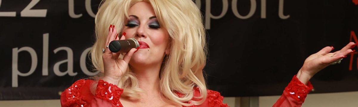 Dolly Parton Impersonator