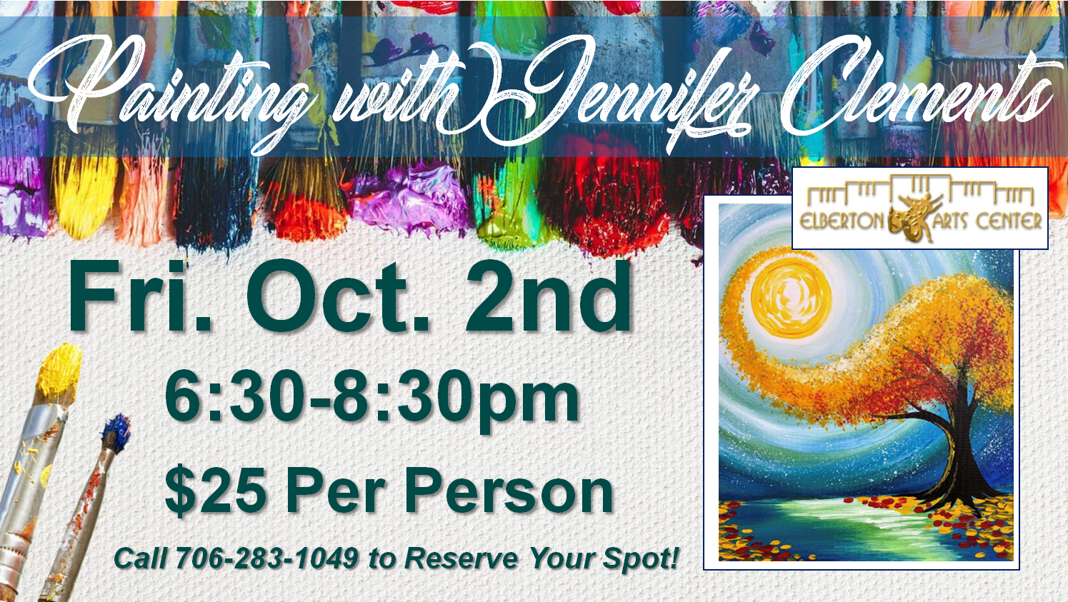 Painting with Jennifer Fri Oct 2