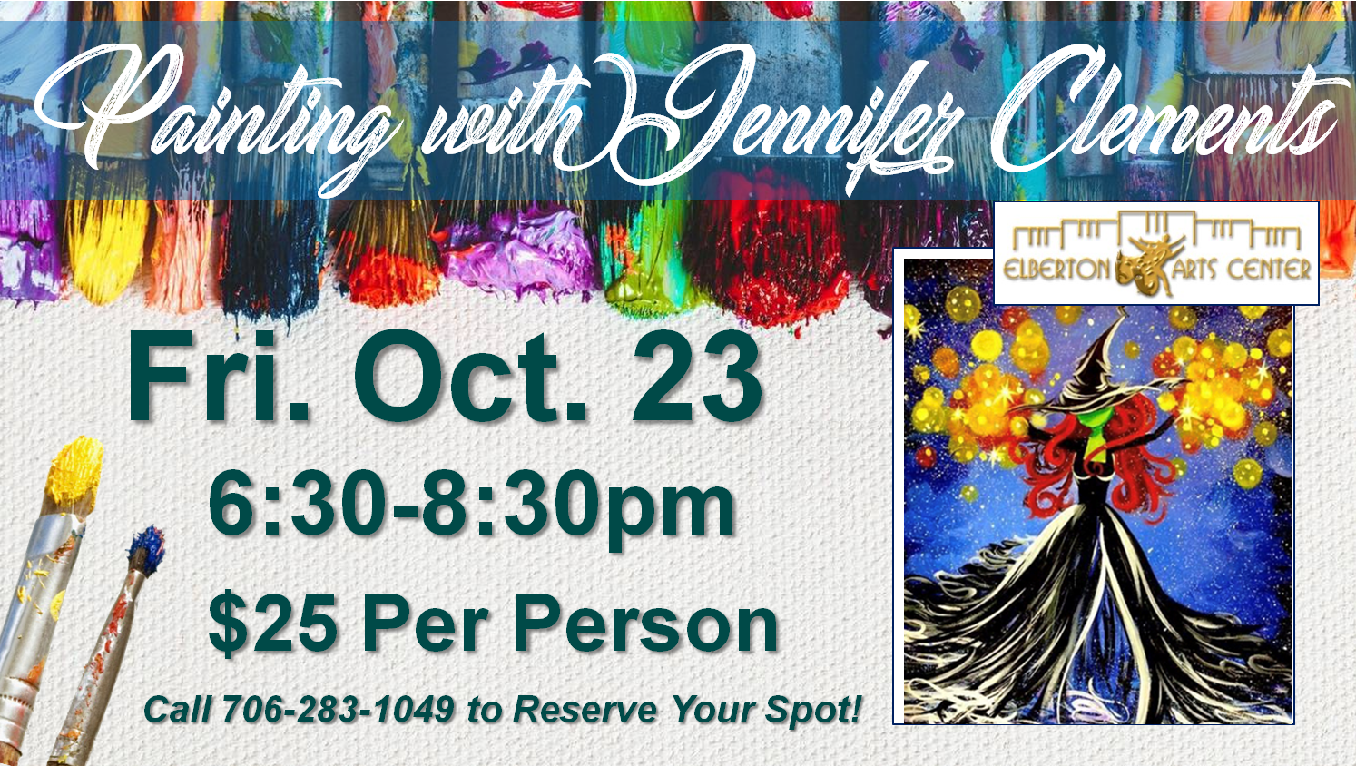 Painting with Jennifer Fri Oct 23