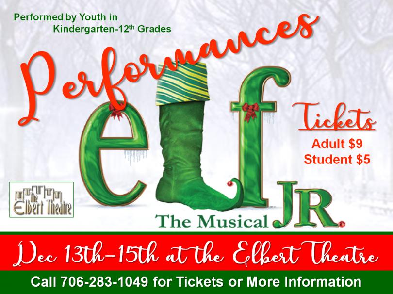 Elf Jr Performances