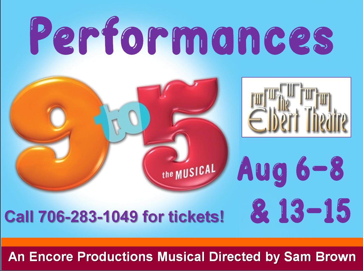 9 to 5 Performances