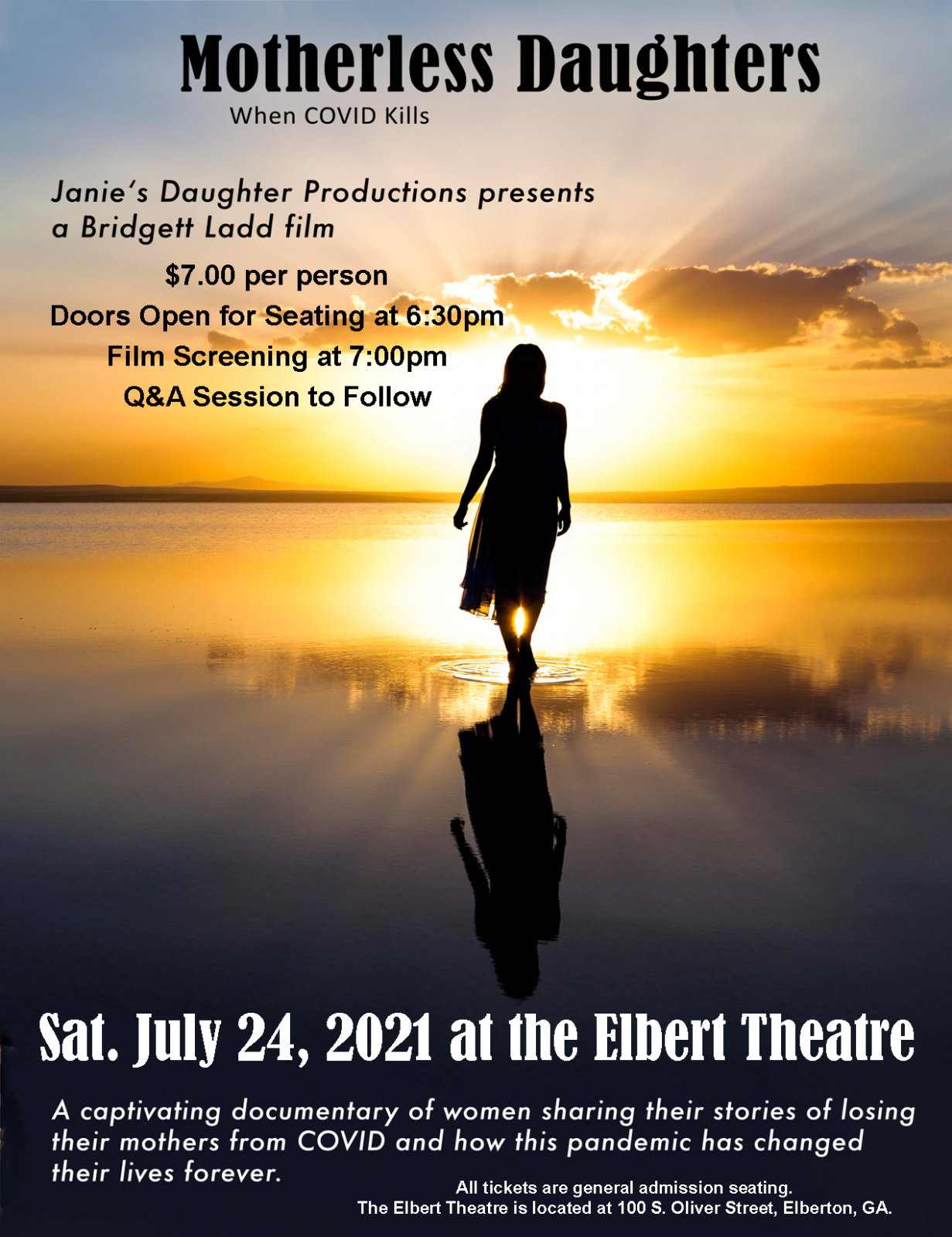 Motherless Daughters Documentary July 24