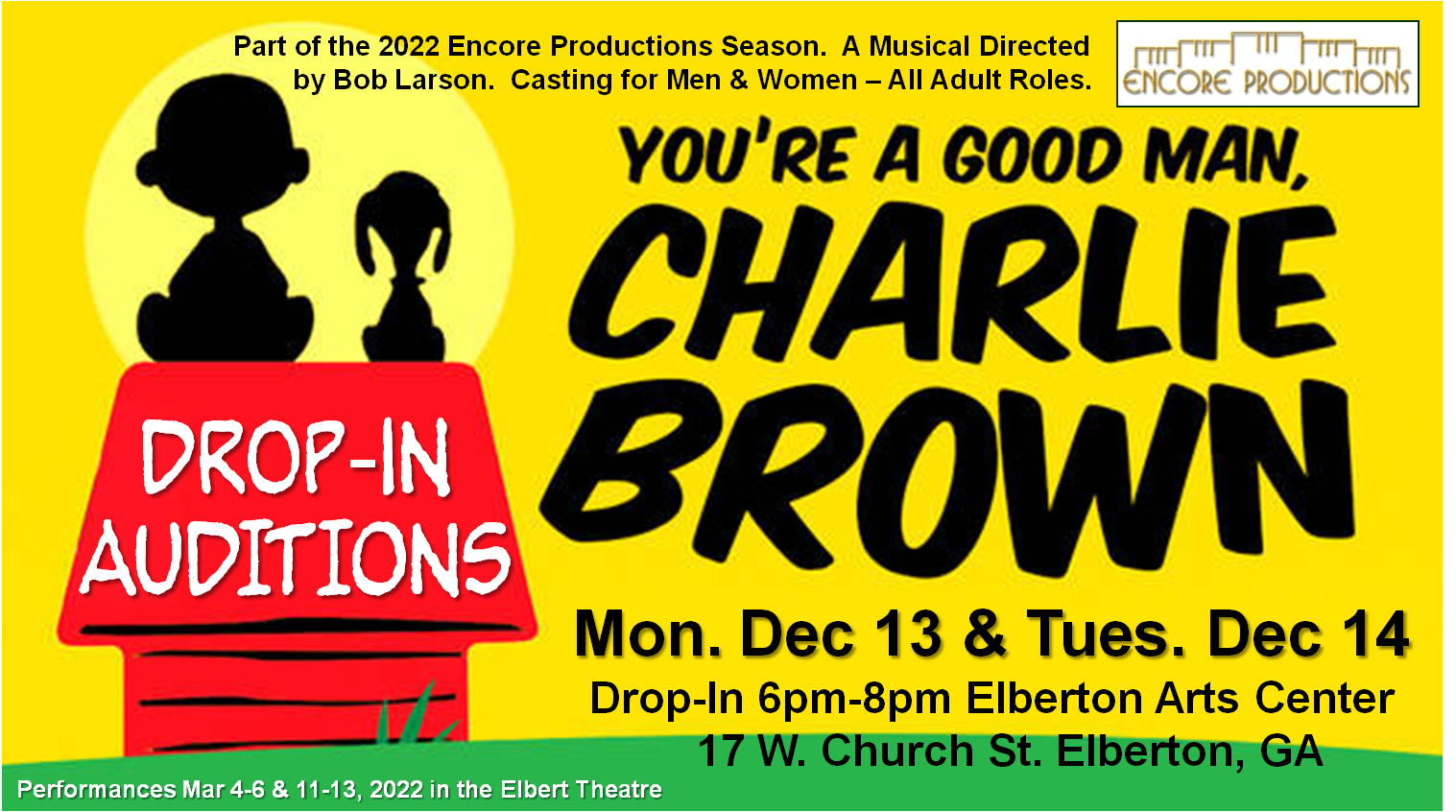 Charlie Brown Auditions