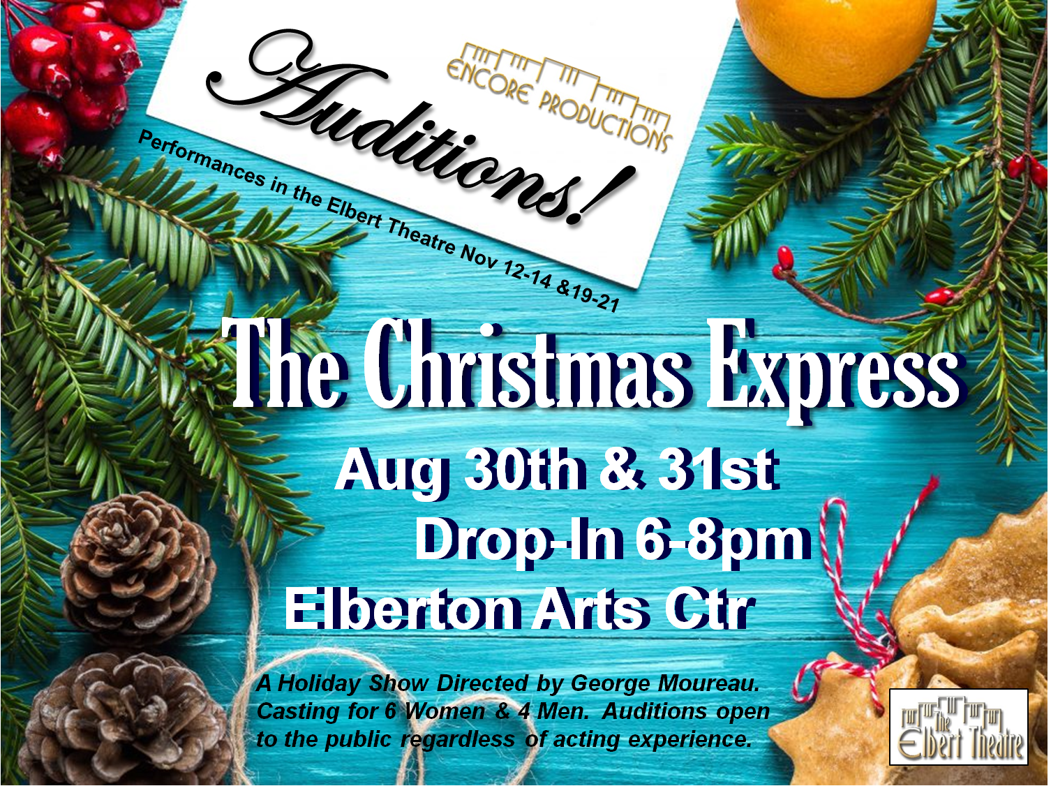 Christmas Express Auditions