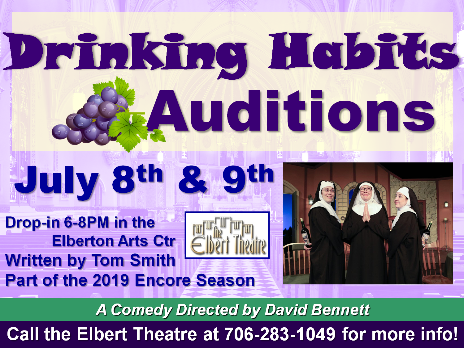 Drinking Habits Auditions