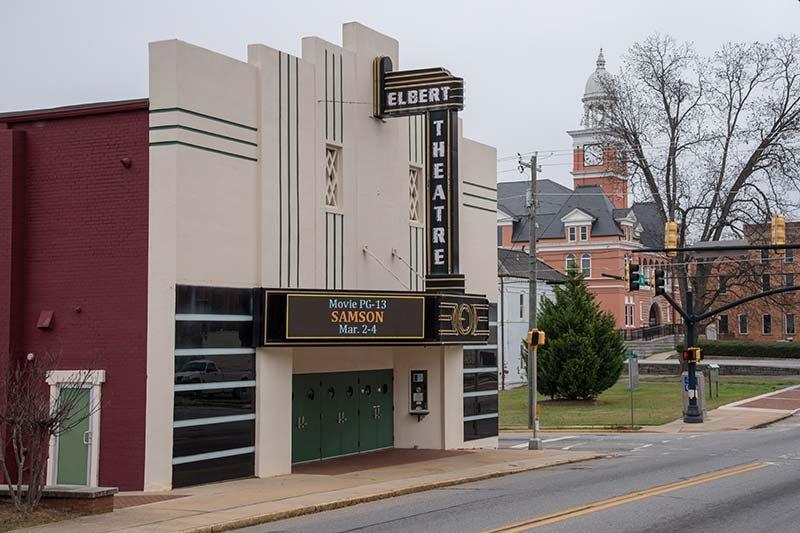 Elbert Theatre Exterior