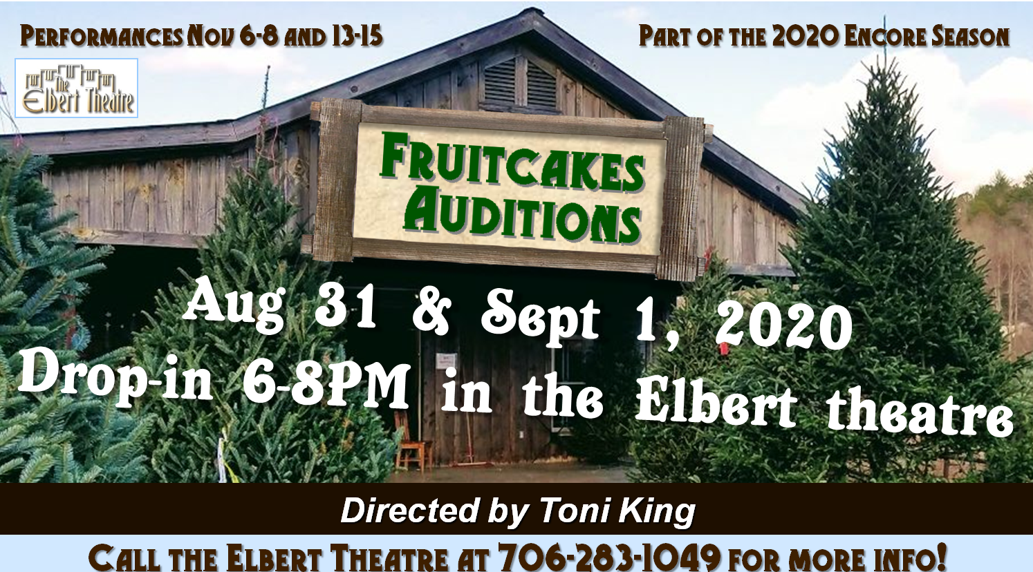 Fruitcakes Auditions