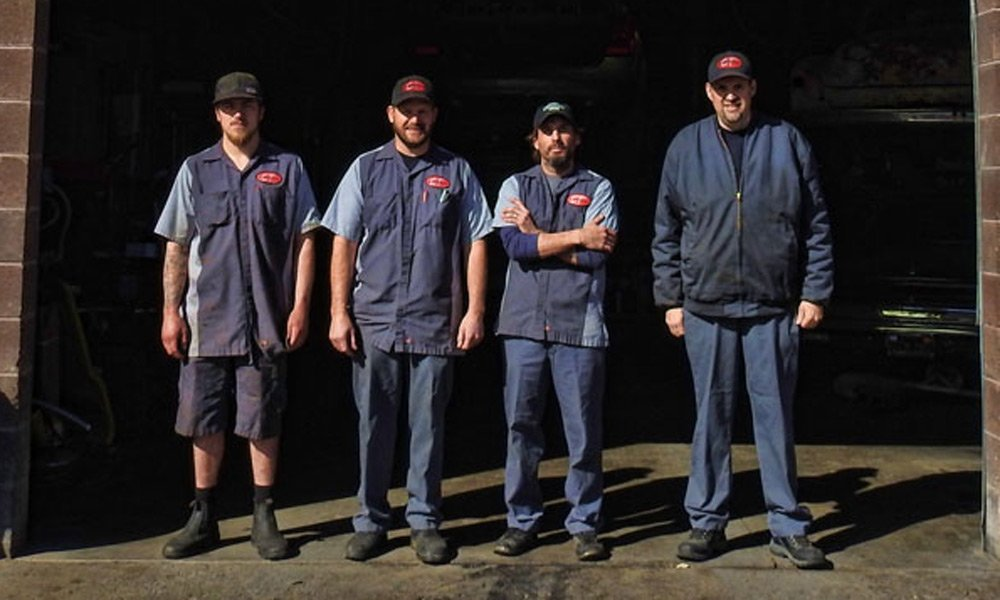 A group of mechanics