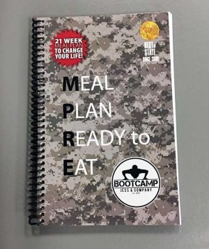 MPRE Meal Plan Diet Book