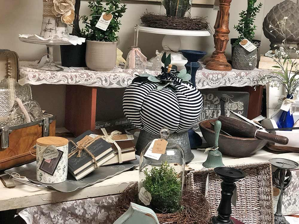 Gathering of Vintage Home Decor
