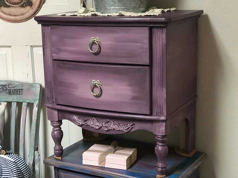 Vintage Style Painted Drawers