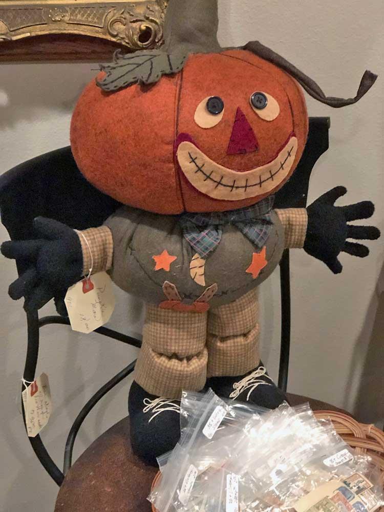 Halloween Wreath with Skeleton