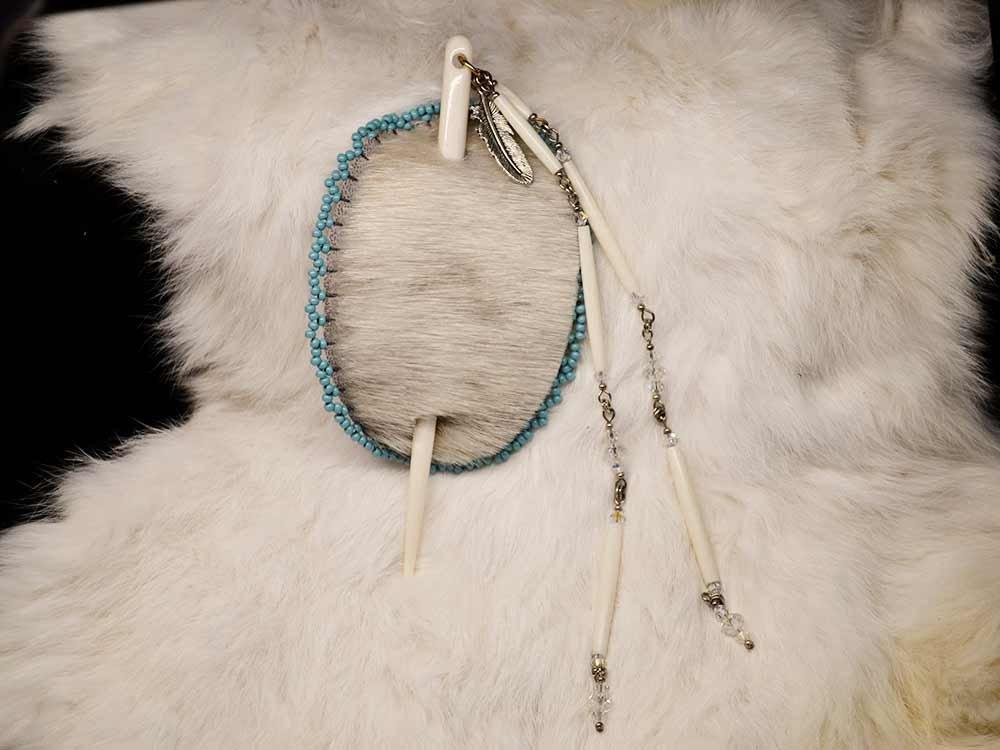 Jewelry on Fur Skin
