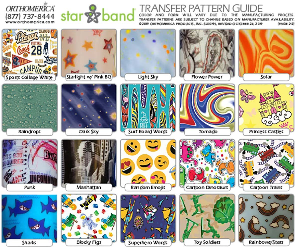 Star Band Transfer Pattern Guide