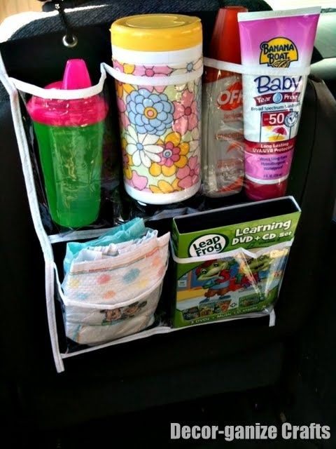 Cups and baby supplies organizers