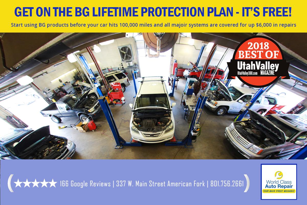 Get on the BG lifetime protection plan
