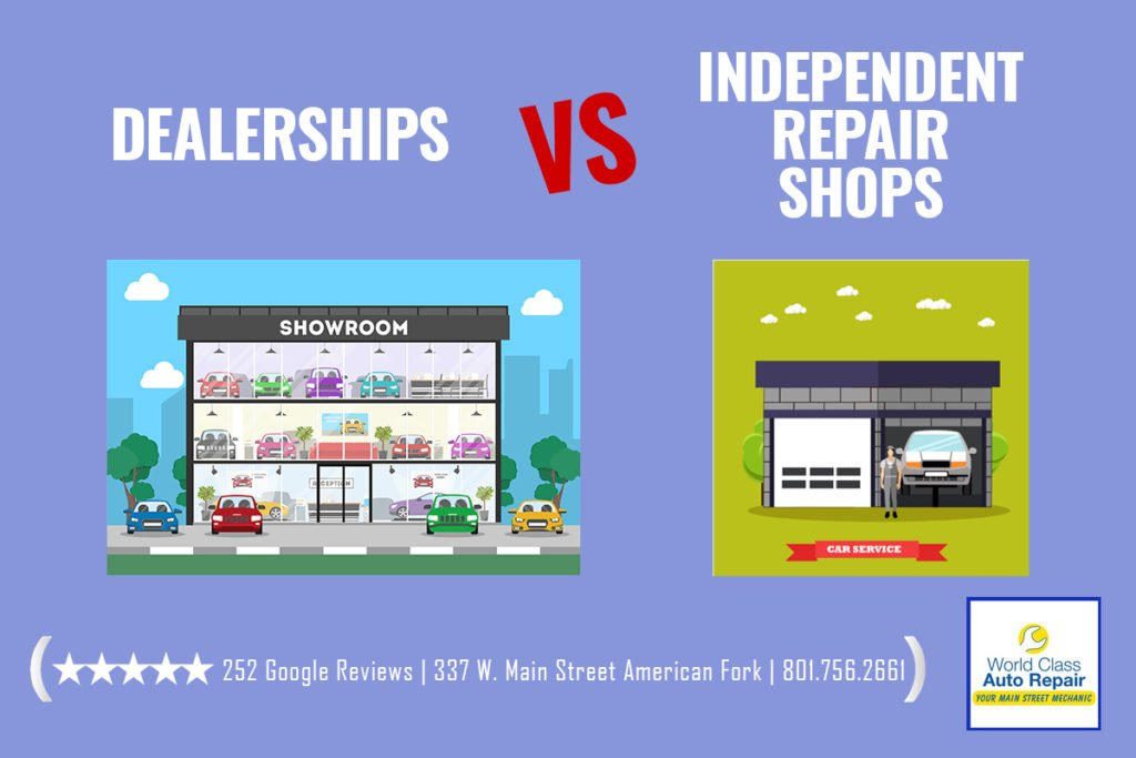 Dealerships vs Independent repair shops
