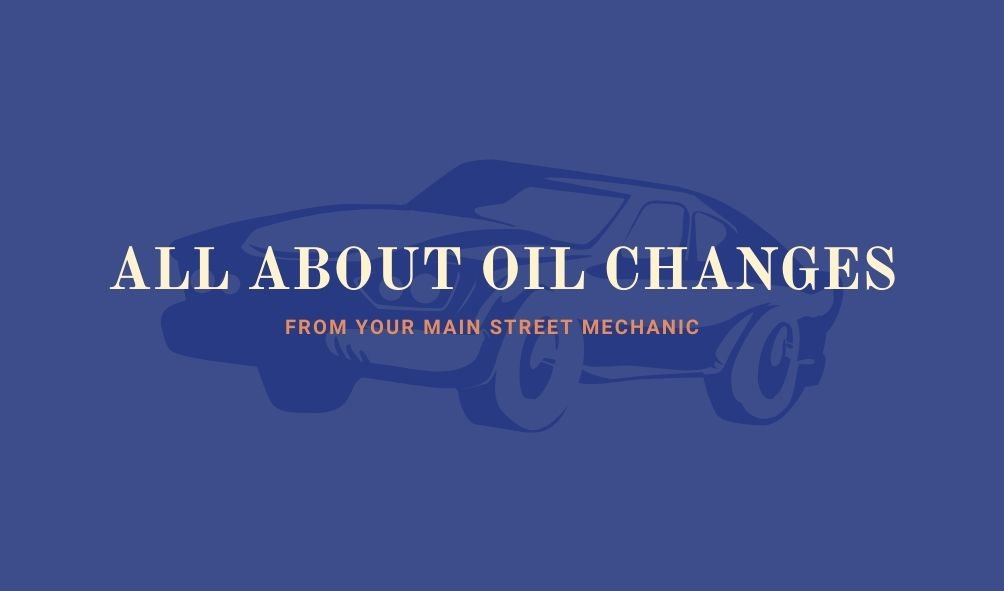 all about oil changes